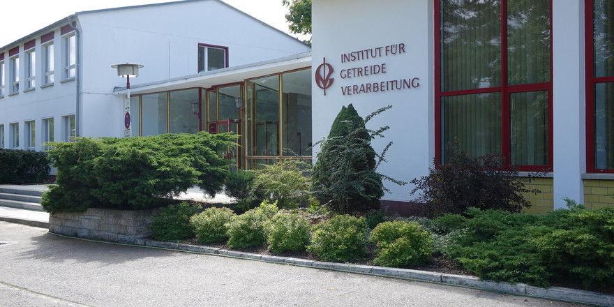 Stammsitz des IGV Institut für Getreideverarbeitung GmbH in Bergholz-Rehbrücke.