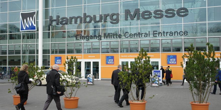 Die Internorga findet jährlich auf dem Hamburger Messegelände statt.