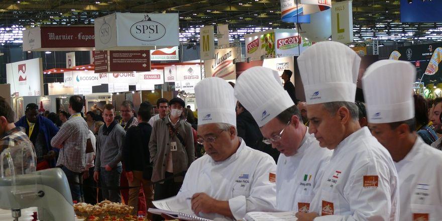 Auf der Europain werden nicht nur die neuesten Trends gezeigt, hier messen sich auch die weltbesten Bäcker auf internationaler Ebene.