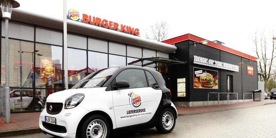 Burger King setzt jetzt verstärkt auch auf den Lieferservice.