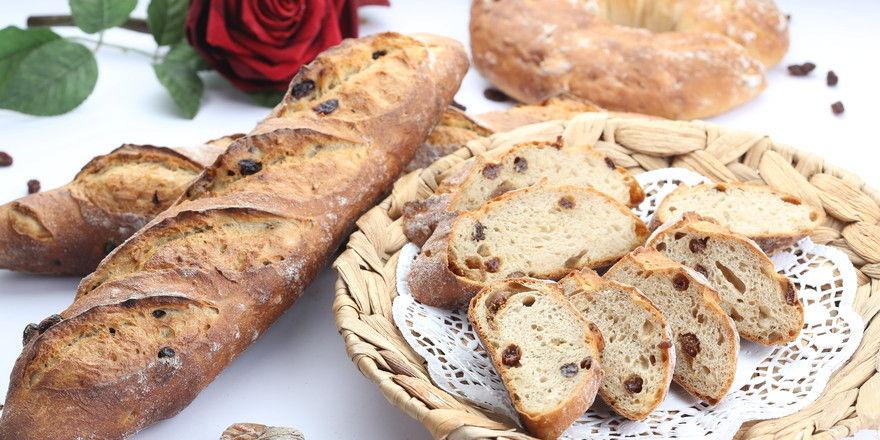 Mit oder ohne rote Rosen: Brotkreationen mit Rosen sind eine verführerische Angelegenheit.