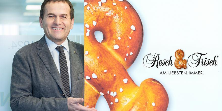 """Josef Resch hat das sogenannte """"Resch&Frisch""""-System - der Backwarenbelieferung von Gastronomen - entwickelt."""
