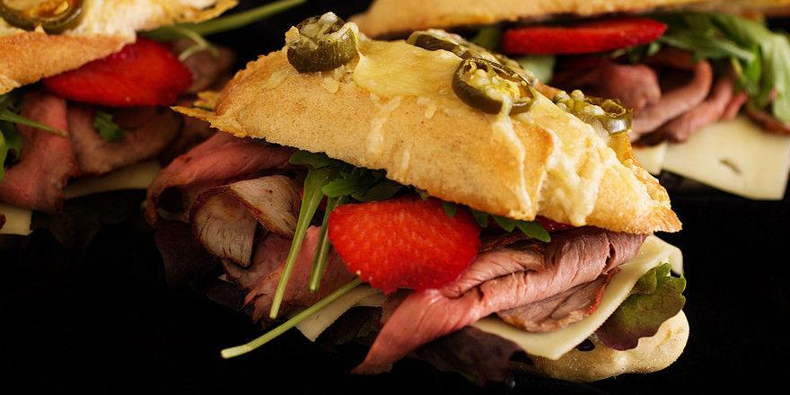 In City-Lagen sollten auch Snacks mit edlen Zutaten im Angebot sein.