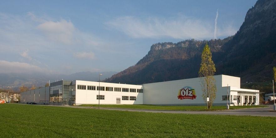 Das Werk in Wallenmahd ist einer der Produktionsstandorte der Großbäckerei Ölz in Österreich.