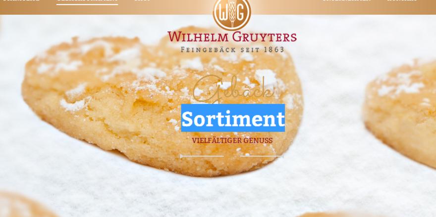 Die Firma Wilhem Gruyters GmbH aus Krefeld ist Spezialist für Feingebäck.