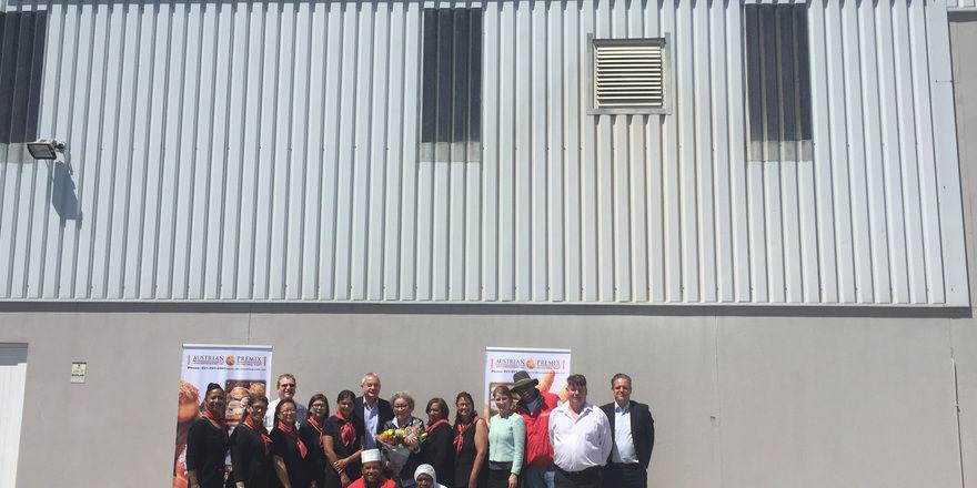 Mitarbeiter von Austrian Premix arbeiten künftig für Backaldrin, das die Mehrheit an dem Unternehmen in Südafrika erworben hat.