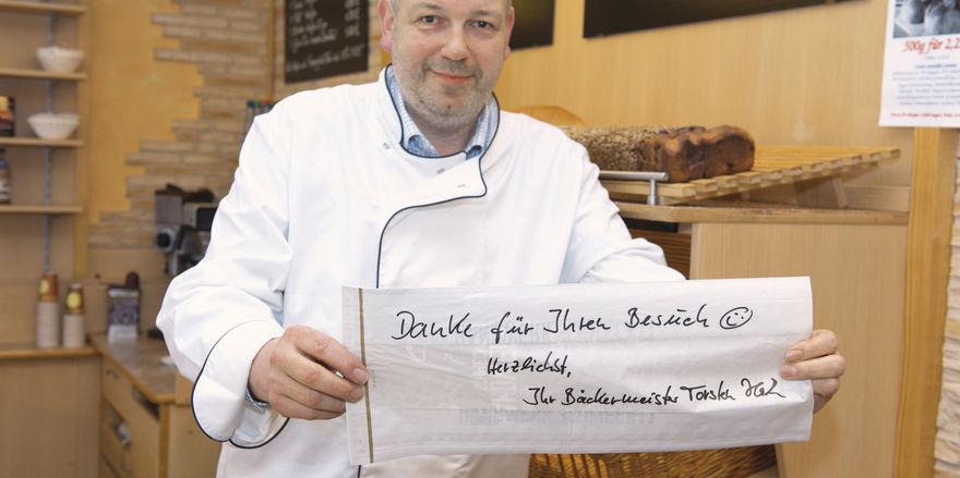 Torsten Hacke - Bäckermeister mit Profil und Ideen