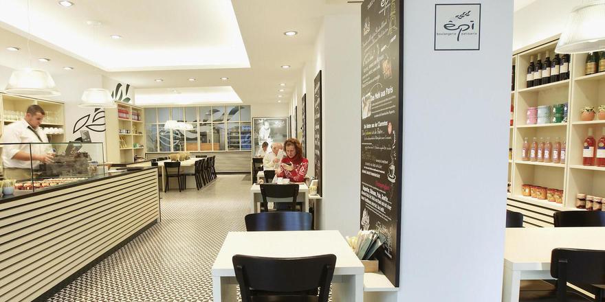 Das Innendesign der Läden wurde in Kooperation mit der RWTH Aachen entwickelt.