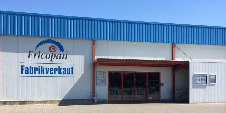 Fabrikverkauf - bei Fricopan wird auch der wohl bald eingestellt.