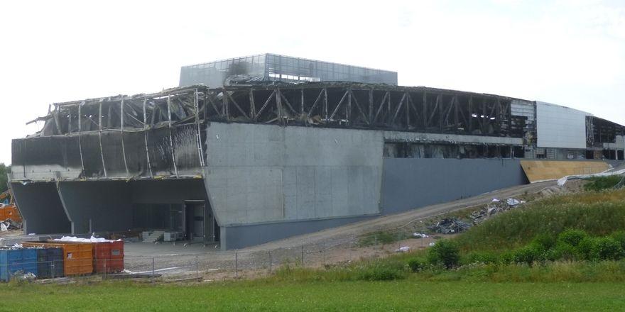 Die Großkonditorei Pfalzgraf startet nach dem Großbrand im vergangenen Jahr ab Juli wieder die Produktion.