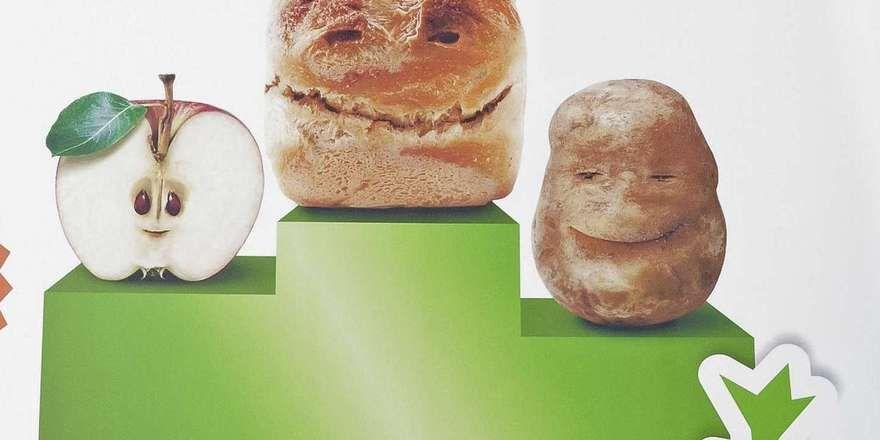 Mit diesem Motiv wirbt das Ministerium für das Engagement gegen die Lebensmittelverschwendung und den Bundespreis: BMEL