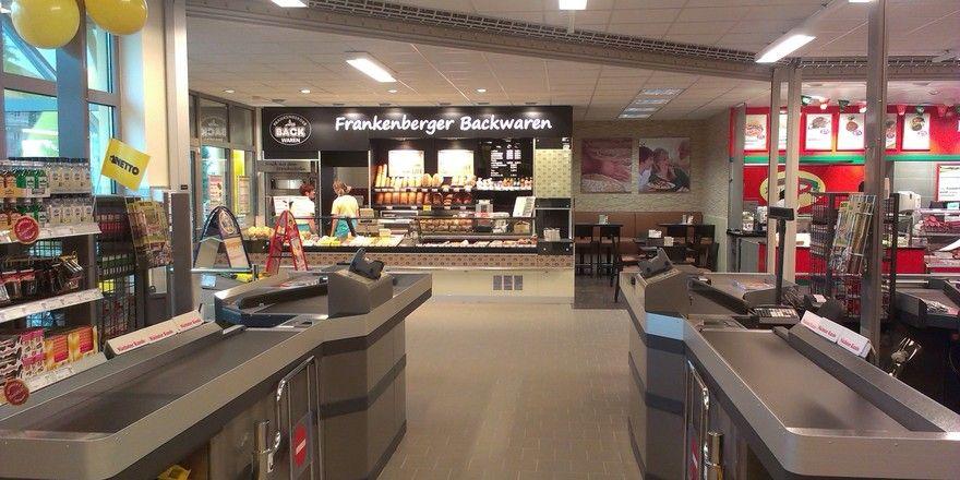 Einer der regionalen Bäcker in der Vorkasse der Netto-Märkte ist Frankenberger Backwaren aus Freiberg in Sachsen.