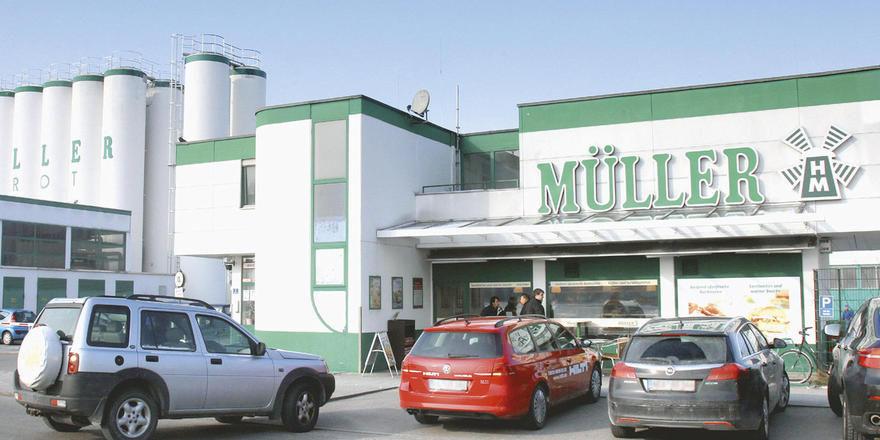 Durch die Insolvenz von Müller-Brot verloren rund 1300 Mitarbeiter ihren Arbeitsplatz.