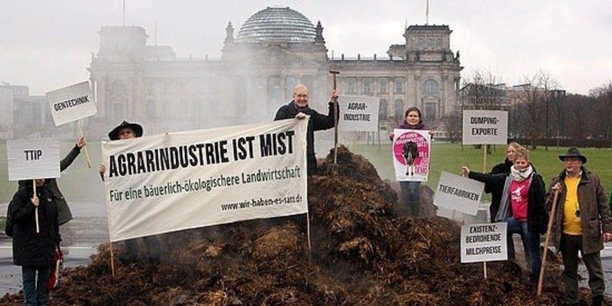 """Ab 30. September will auch der Verein """"Die Freien Bäcker"""" in Berlin gegen die aktuelle Agrarpolitik demonstrieren."""