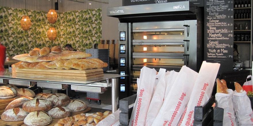 Das Oh-Julia bietet in der hauseigenen Bäckerei Brotspezialitäten aus Deutschland, Frankreich und Italien an.