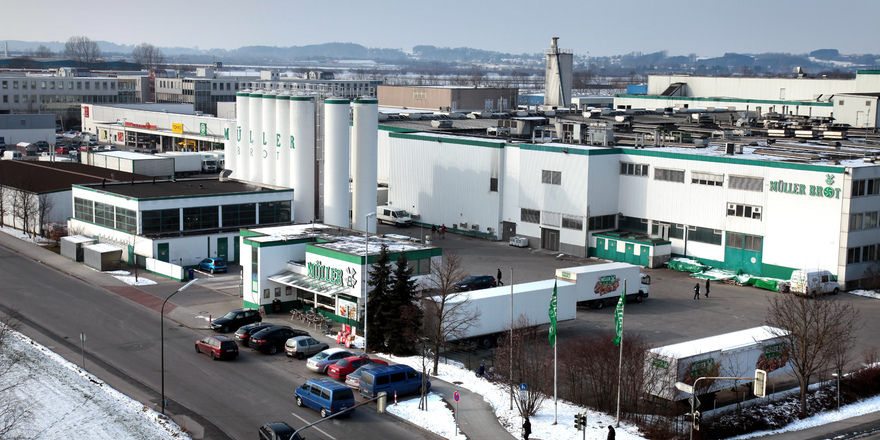 Die Produktion von Müller-Brot in Neufahrn bei München ist seit der Insolvenz im Februar 2012 geschlossen.