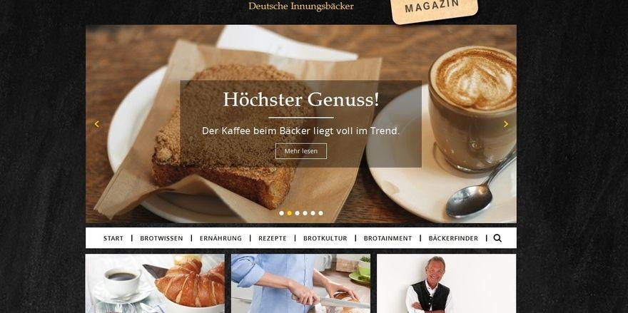 Auf www.innungsbaecker.de können sich Verbraucher über die deutsche Brotkultur und das Bäckerhandwerk erkundigen.