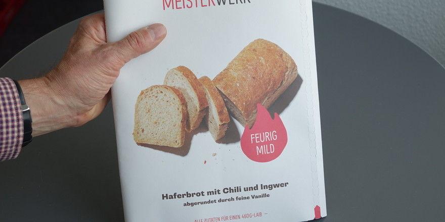 """Das Online-Geschäft """"Meisterwerk"""" bietet den Kunden diverse Brotbacksets an."""