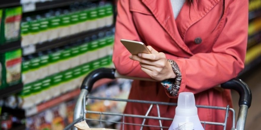 Beim Einkaufen soll den Verbrauchern per App mehr Transparenz geboten werden.