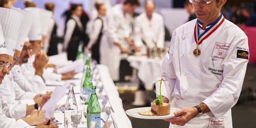 Bei der Weltmeisterschaft der Pâtissiers können sich ambitionierte Bäcker und Konditoren inspirieren lassen.