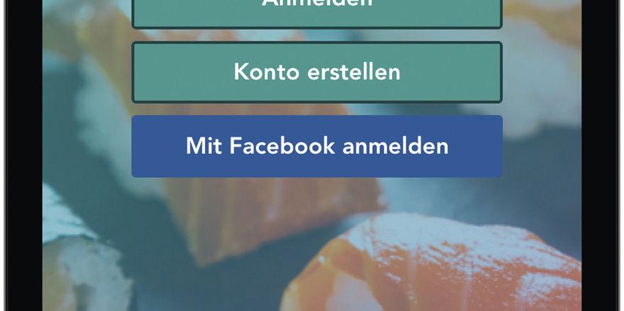 So sieht die App fürs Smartphone aus.