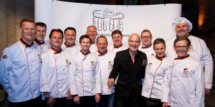 Brotbotschafter, Nationalmannschaft und Brotsommeliers präsentieren das deutsche Bäckerhandwerk in Berlin.