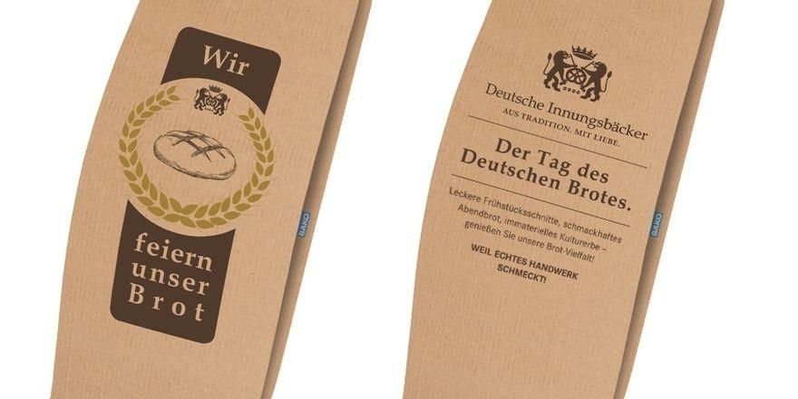Solche Beutel gibt's zum Tag des deutschen Brotes im Mai.