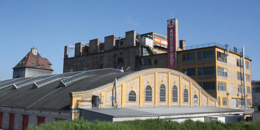 Der Firmensitz von Ankerbrot.