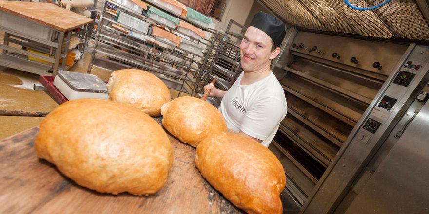 Insgesamt wurden für den großen Weizentest 240 Brote gebacken.