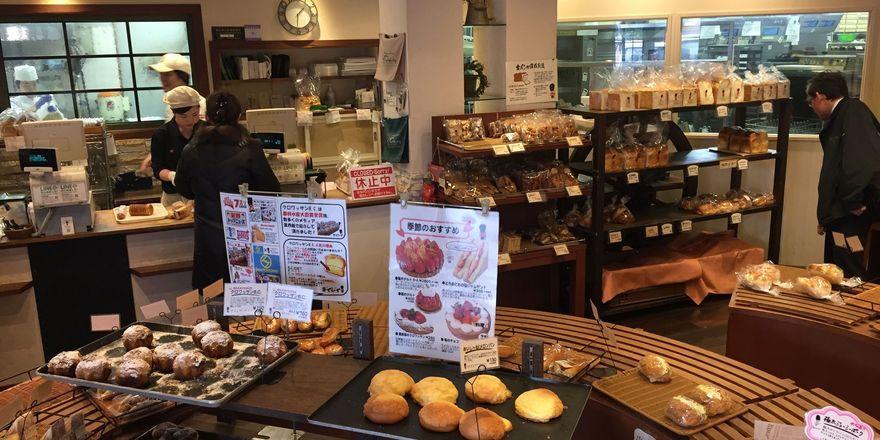 Blick in die japanische Bäckerei Daisy in Tokio.
