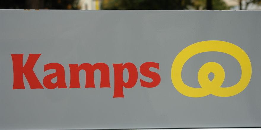 Das Logo der Kamps GmbH wird man bald an ihrem neuen Standort in Erkelenz finden.