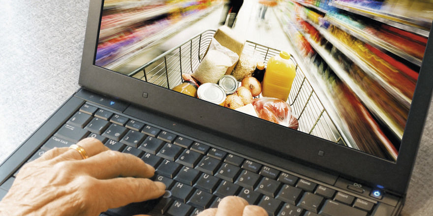 Virtuell durch den Supermarkt – das soll jetzt noch einfacher gehen.