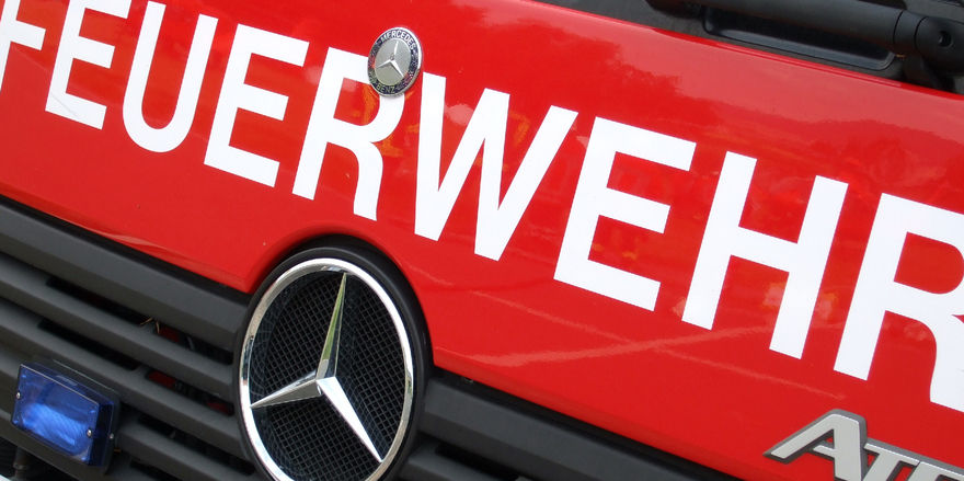 Die Feuerwehr konnte ein Ausbreiten des Brandes verhindern.
