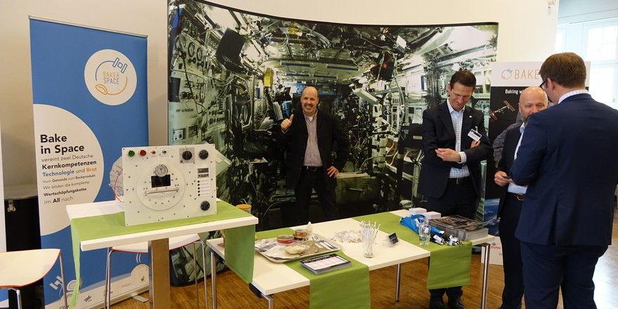 """Auf der Expo zum Kongress steht auch das Weltraum-Projekt """"Back in Space"""" im Fokus."""