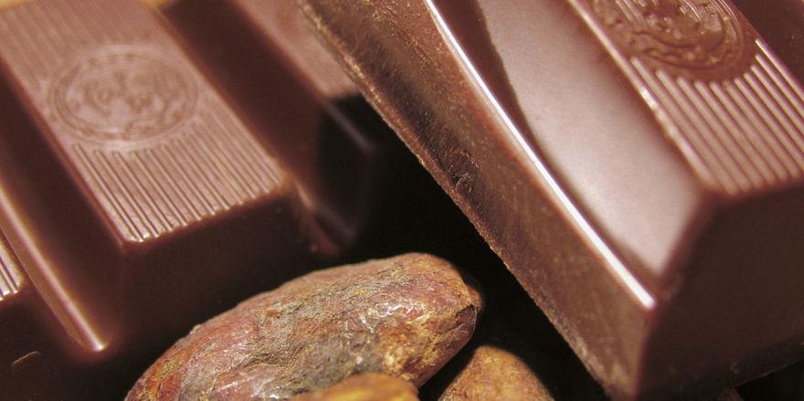 Deutsche mögen verschiedene Schokoladensorten.