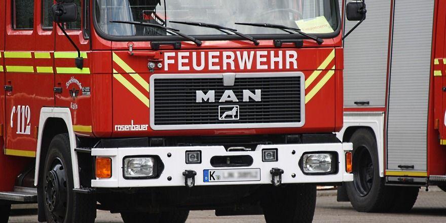 Die Feuerwehr konnte ein Ausweiten der Flammen verhindern.