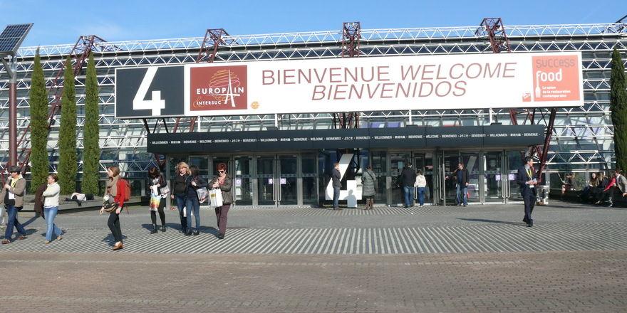 Die Europain findet regelmäßig auf dem Messegelände in Paris-Nord Villepinte statt.