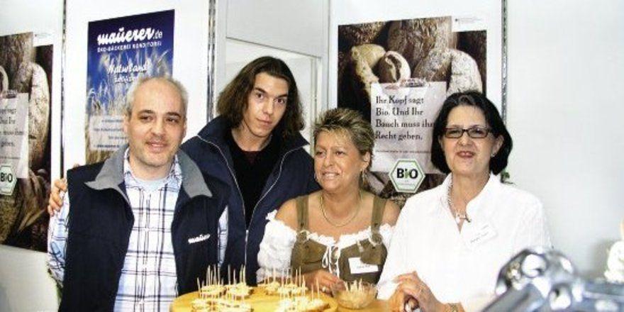 """Die Münchner Bio-Bäckerei Maurer, Aussteller auf der Hoga, möchte ihren Kundenstamm im Bereich der Spitzenhotellerie erweitern. <tbs Name=""""foto"""" Content=""""*un""""/>"""