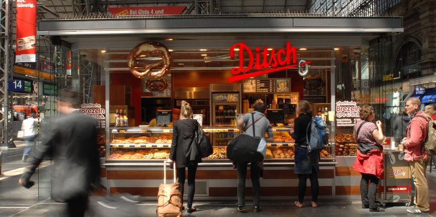 Die Firma Ditsch ist in Deutschland vor allem an Verkehrsstandorten präsent.