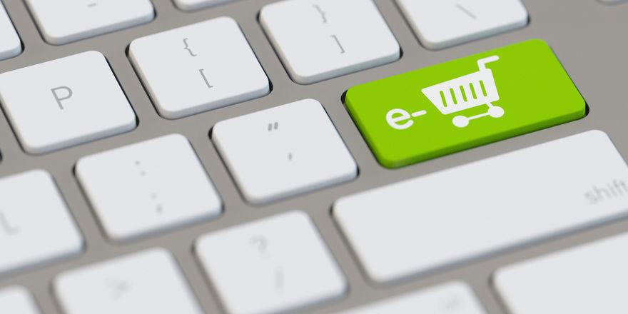 Viele Waren kaufen Deutsche online ein.
