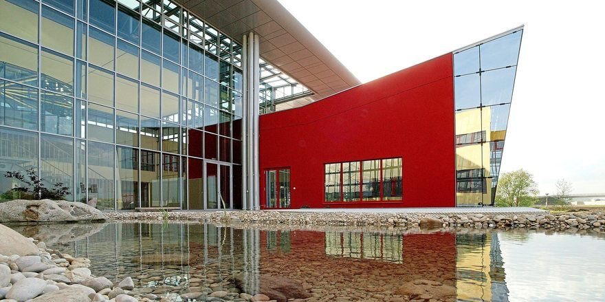 Firmenzentrale von Backaldrin in Asten