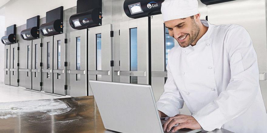 Kälte- und Ofentechnik kann per Laptop und Smartphone gesteuert werden.
