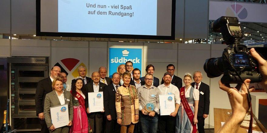 Zur Eröffnung der Messe erhielten die Preisträger des Trend Awards ihre Preise.