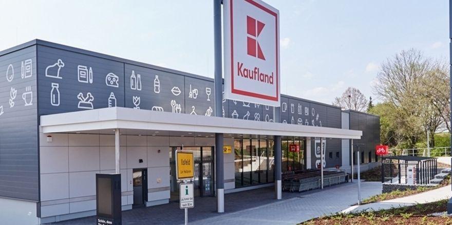 Die Lebensmitteleinzelhandelskette Kaufland unterhält Filialen in ganz Deutschland.