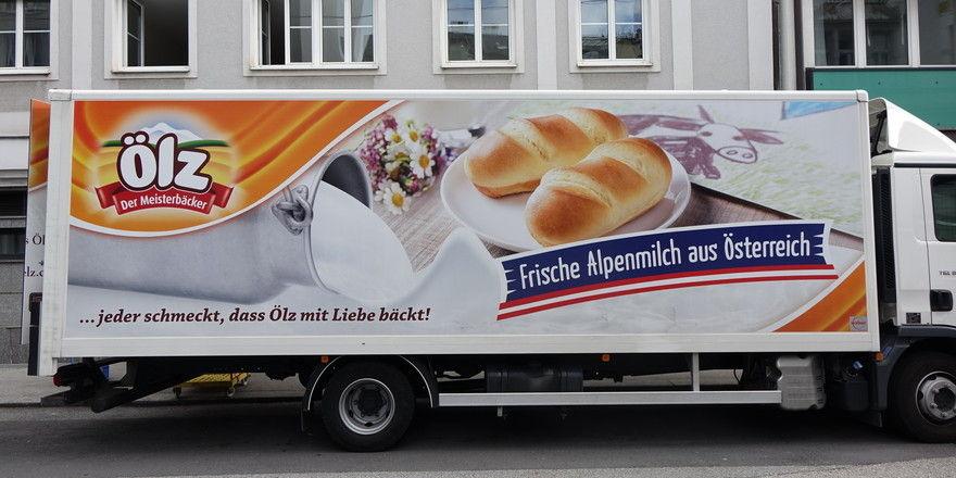 Ölz ist für den Lebensmitteleinzelhandel unterwegs. In Österreich- und vor allem auch in den Nachbarländern.