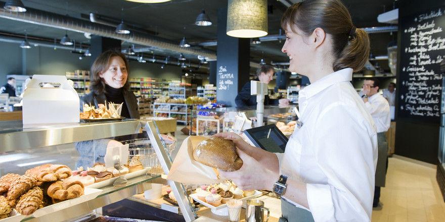 Ein Bäckerei-Café ist Teil des Temma-Konzepts.
