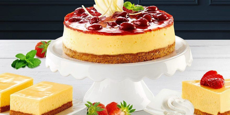 American Cheesecake - Amerikanischer Käsekuchen - gehört zu den Sorten, die bei jungen Leuten gut ankommen.