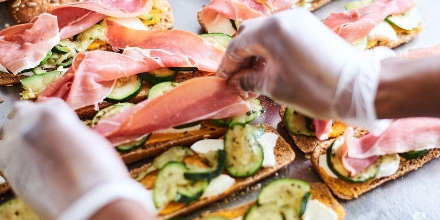 Frische Zutaten sind Teil des Healthy Fast Food Konzepts von Exki.