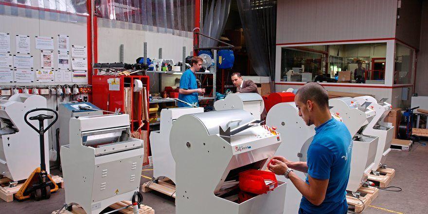 Jac produziert im belgischen Liège vorwiegend Gatterschneidemaschinen.