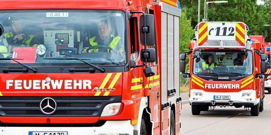 Die Feuerwehr war schnell vor Ort und hat den Brand schnell unter Kontrolle gebracht.